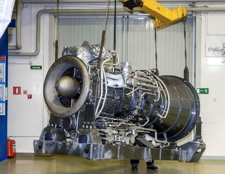 Газотурбинный двигатель М70ФРУ © Объединенная двигателестроительная корпорация