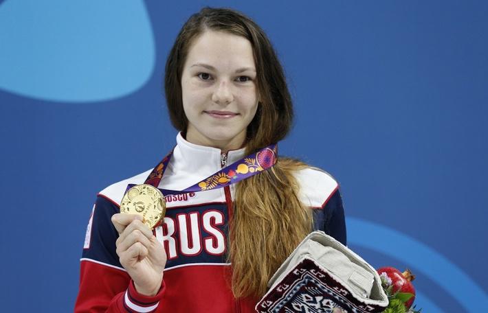 Российская спортсменка Мария Асташкина