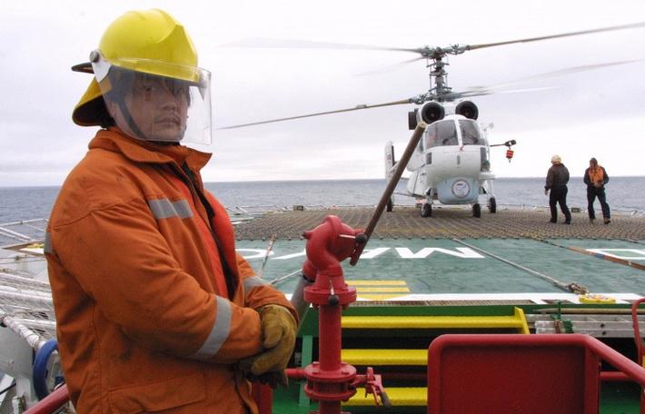 Вертолет морской авиации Ка-32© ИТАР-ТАСС/Виталий Белоусов