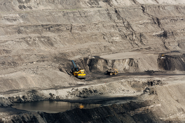 Бачатский угольный разрез. Путешествие на Алтай, начало