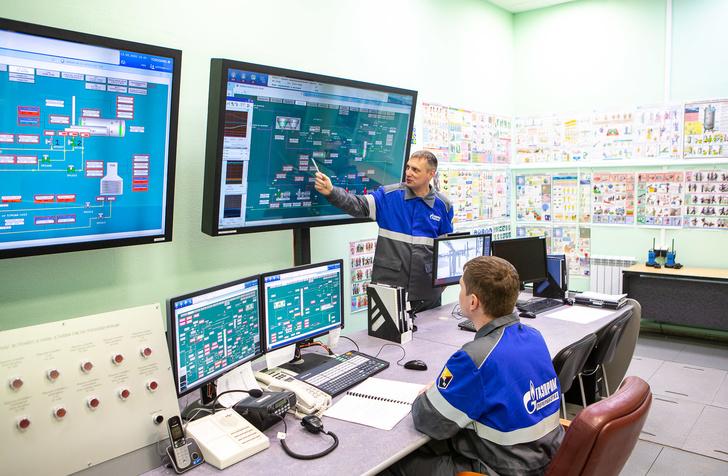 Ведение технологического процесса в операторной установки