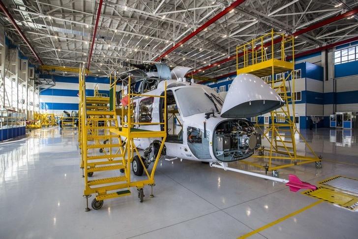 Доработка первого летного опытного образца вертолета Ка-62 на заводе «Прогресс» им. Н. И. Сазыкина