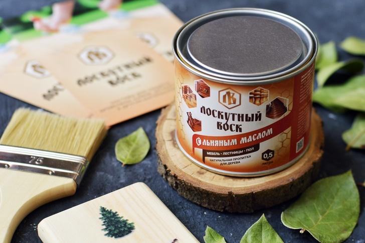 Компания «Лоскутный Воск» из Ижевска производит натуральные пропитки для эко-строительства