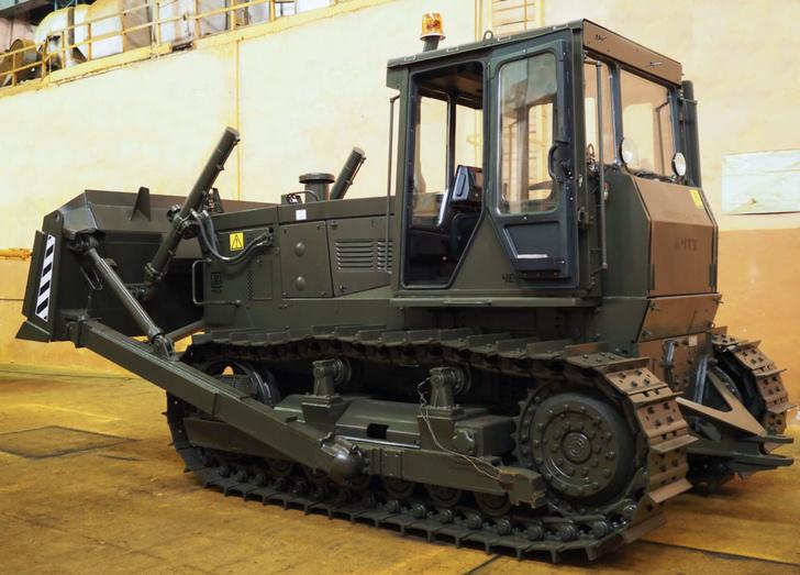 Челябинский тракторный завод осуществил поставку бульдозера Б10М.0101Е дляРосгвардии