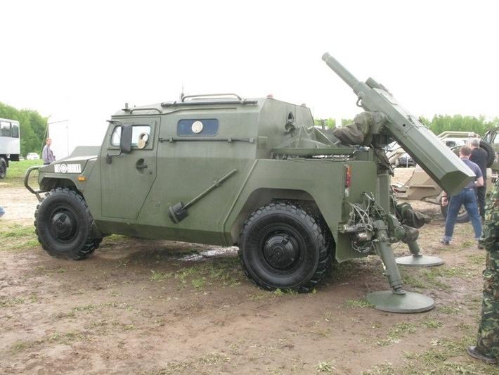 Самоходный миномёт на базе СБМ Тигр-М