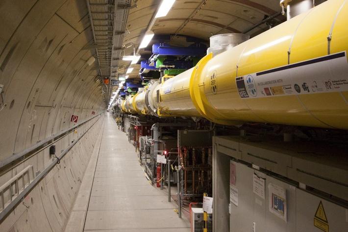 Туннель основного ускорителя XFEL,