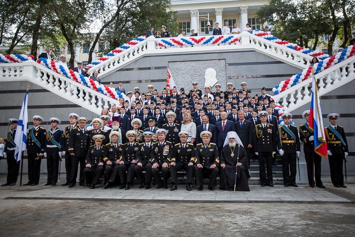 Автор фото: Антон Балашов. Открытие Президентского Кадетского Училища во Владивостоке