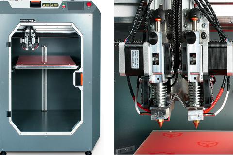 3D-принтер с двумя экструдерами создали в Воронежской области