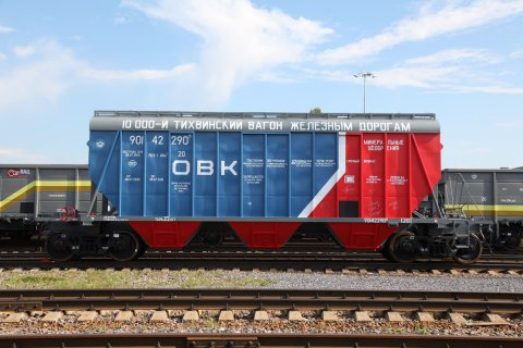 """НПК """"ОВК"""": Обзор железнодорожного рынка РФ в феврале –марте 2016 года"""