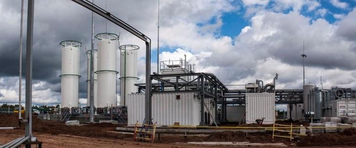 На Сахалине запущен первый на Дальнем Востоке мини-завод по сжижению природного газа