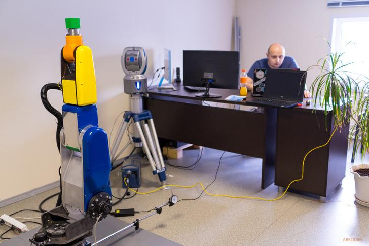 АРКОДИМ испытала опытный образец высокоточного российского коллаборативного робота