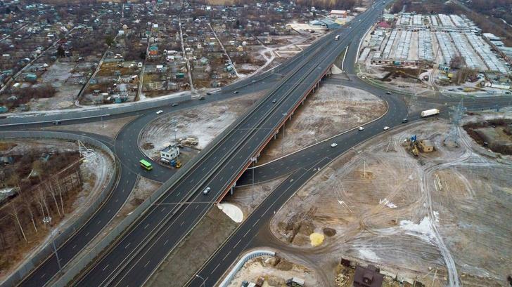 Новая транспортная развязка увеличила в два раза пропускную способность М-5 «Урал» в Рязани