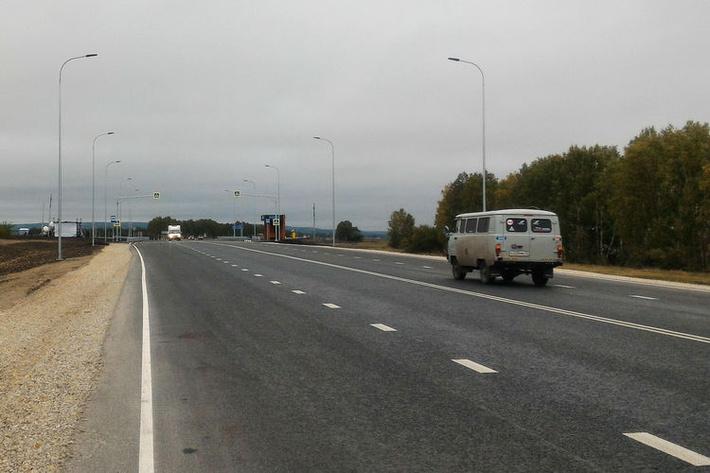 В Ульяновской области открыто движение по обновленному 10-километровому участку автодороги Р-178