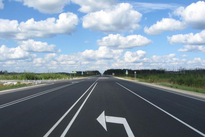 В Архангельской области открыт после капремонта участок федеральной трассы М-8 «Холмогоры»