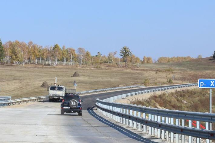 На федеральной автодороге «Амур» Чита – Хабаровск открыто движение транспорта через реку Хангуй