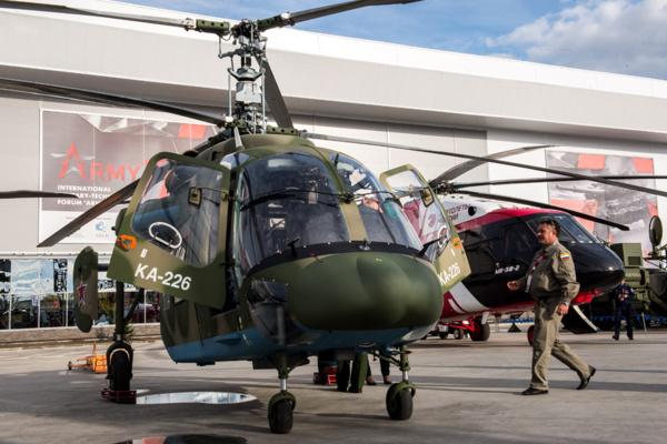Ка-226Т успешно прошел испытания в Иране