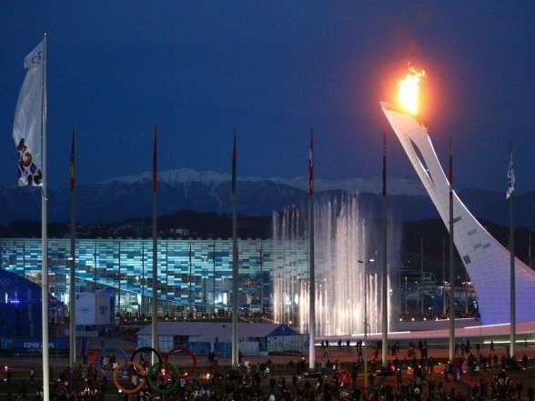 Главный олимпийский факел отработал безупречно