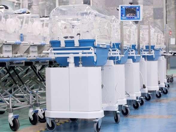 «Швабе» привез детские инкубаторы в Ливию
