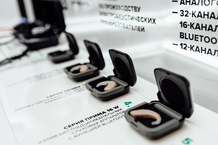 Завод «Октава» представил цифровые слуховые аппараты