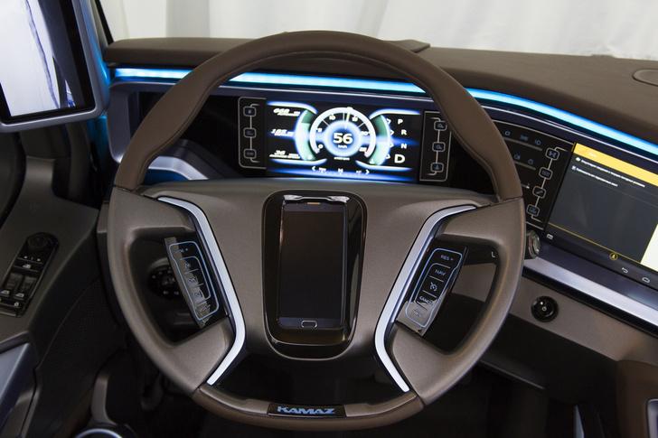 КАМАЗ разработал интеллектуальную систему для грузовиков