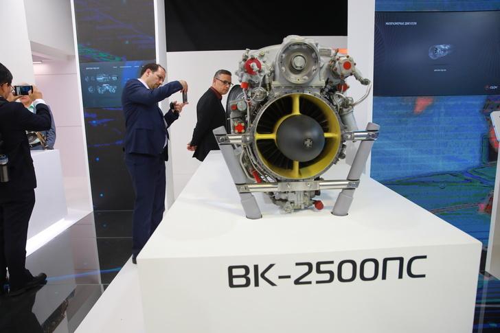 Улучшены ресурсные показатели двигателя ВК-2500ПС-03 производства ОДК