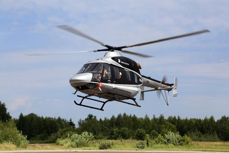 «Вертолеты России» завершили испытания «Ансата» в высокогорье