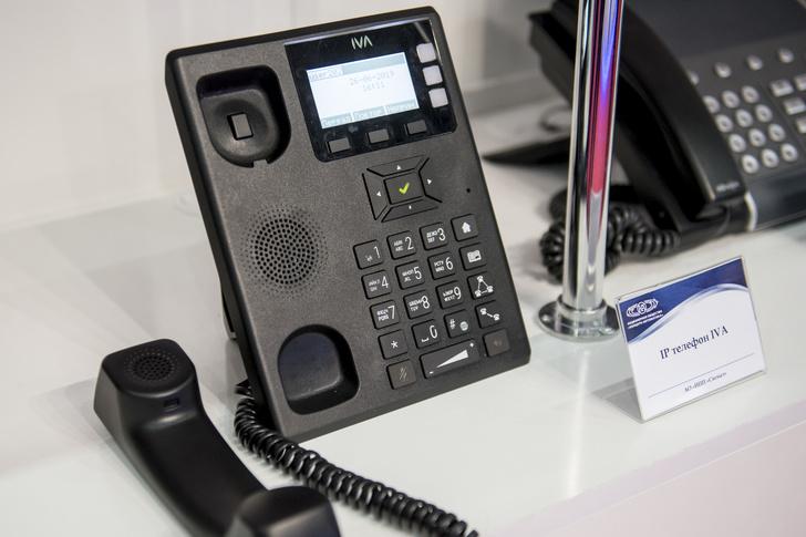 Ростех выводит на российский рынок IP-телефон