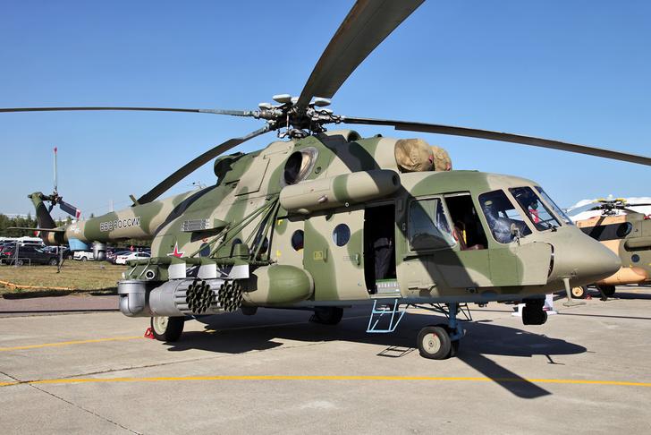 «Вертолеты России» поставили Минобороны партию Ми-8АМТШ