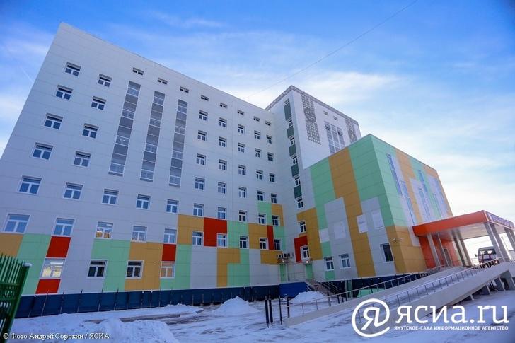 Перинатальный центр в Якутске начал принимать пациентов