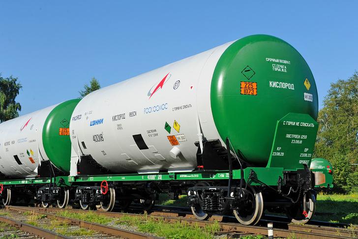 Уралвагонзавод поставил вагоны для хранения топлива ракеты «Ангара»