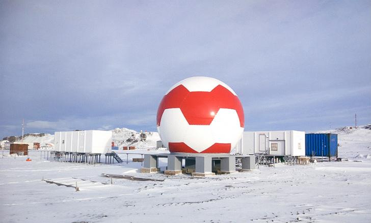 Аппаратура Ростеха установлена в Антарктиде для повышения точности системы ГЛОНАСС