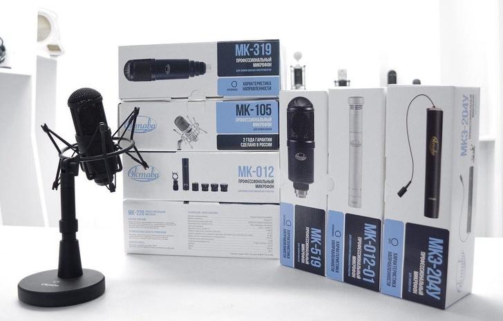 Микрофоны «Октавы» вошли в топ-20 популярных товаров сети «Музторг»