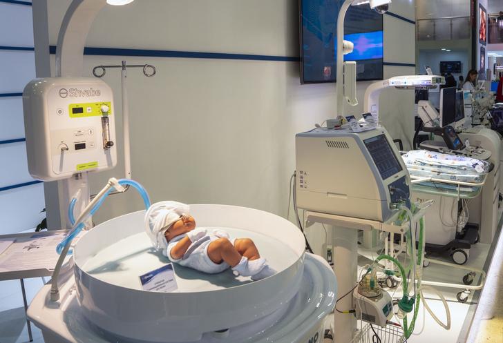 Ростех запускает в серию систему для реанимации младенцев