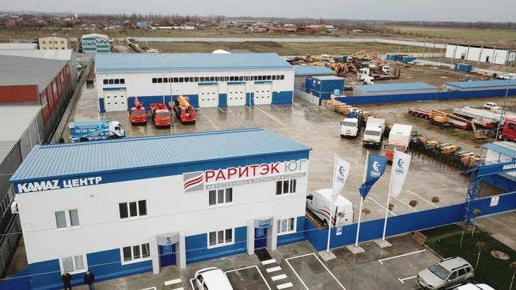 В Краснодаре открыт новый ремонтный центр концерна Камаз
