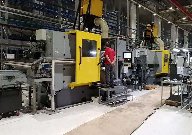 Внедрение автоматической производственной линии на зеленодольком заводе ПОЗИС