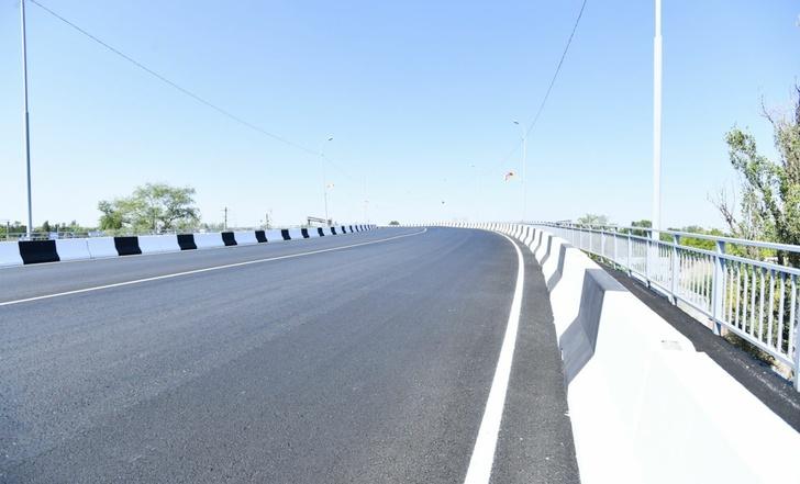 В Моздоке открыли новый мост, соединяющий две части города