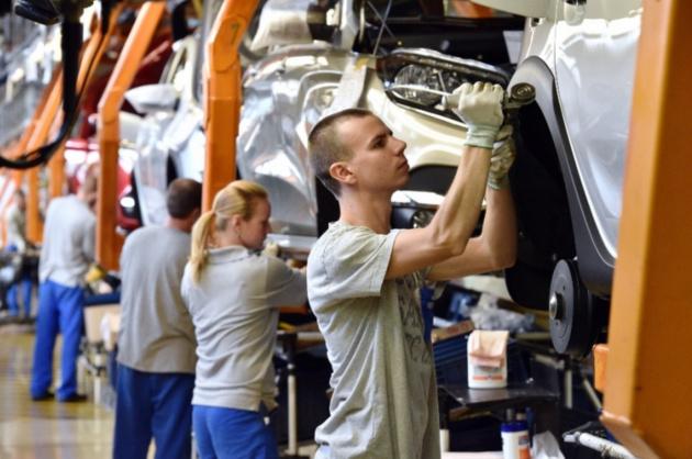Производство легковых автомобилей