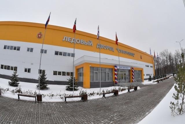 Ледовые арены открылись в военных училищах Казани, Петрозаводска и Мурманска