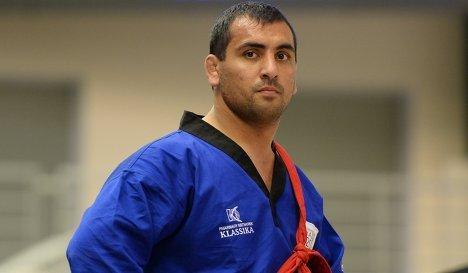 Российский спортсмен Алибек Хапаев