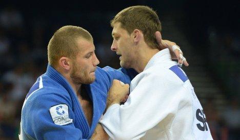 Кирилл Вопросов (слева) и Александар Куколж
