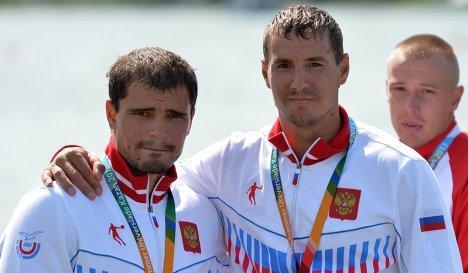 Виталий Юрченко и Василий Погребан