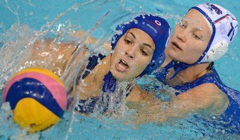 Тгровой момент матча между сборными командами России и Венгрии