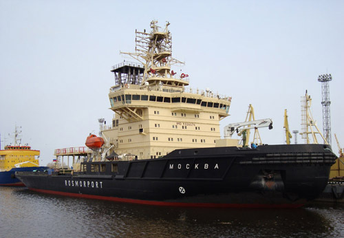 ледокол «Москва»