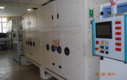 Линия для производства субмикроволокнистых (нано) материалов NS 1600