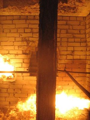 Испытания на огнеупорность «СПРАМЕТ 160»