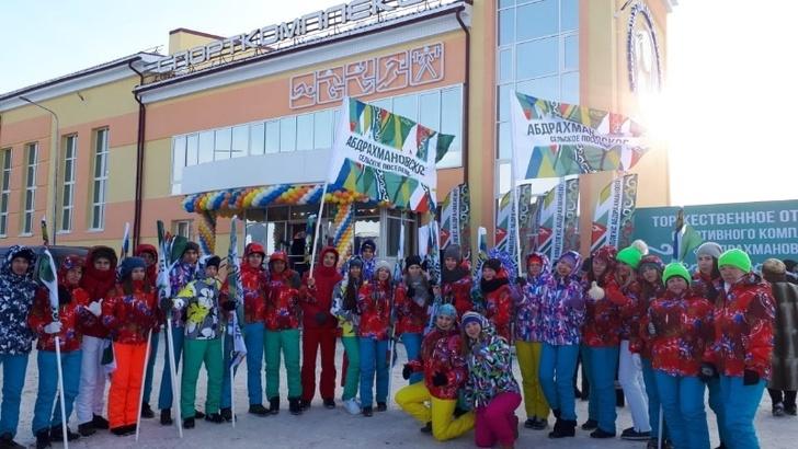 Новый ФОК с плавательным бассейном открыт в Татарстане