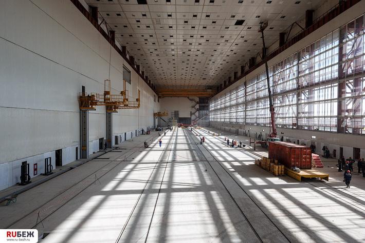 МИК Восточный, строительство, фото Рубеж