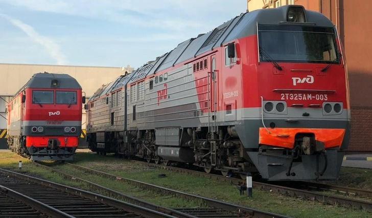 Начались поставки грузовых локомотивов большей мощности на Калининградскую железную дорогу