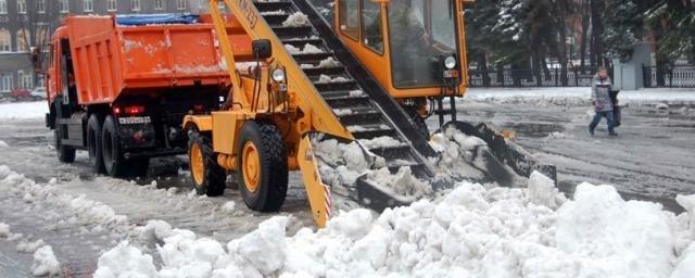 Тула закупила новую технику для обработки заснеженных дорог