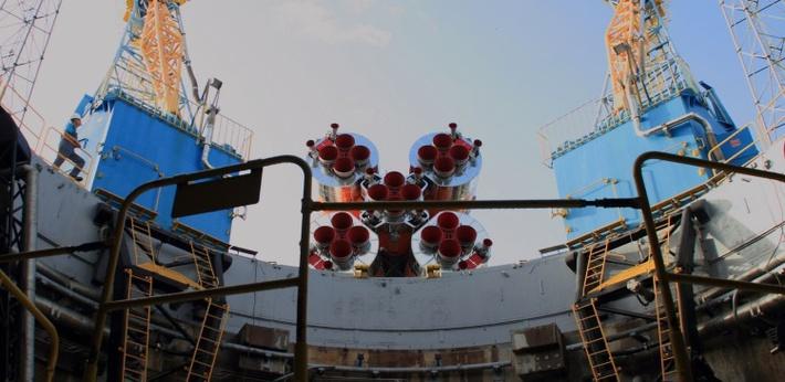 Ракета «Союз-СТ» вывезена на стартовую площадку космодрома Куру